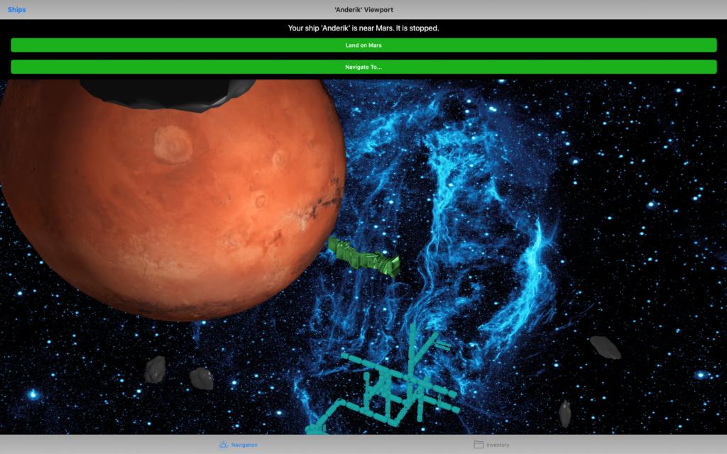 Mac Screenshot of Open Space